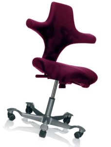 HÅG Capisco 8106 stol lys rød